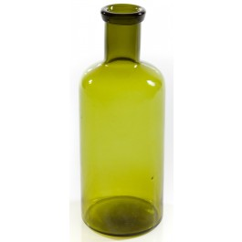 Garrafa Vidro G Verde 36x15cm