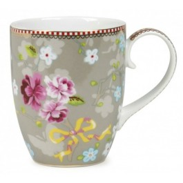Caneca Chinese Rose PiP Studio Khaki 145ml