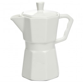 Bule ´COFFEE´ Porcelana Seletti Branco