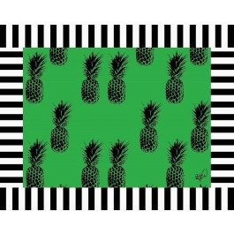 12 Jogos Americanos Papel Abacaxi Verde