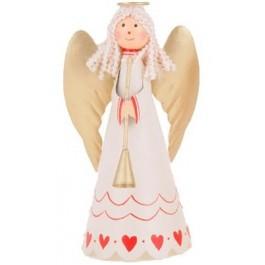 Anjo Branco em Metal