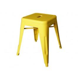 Banco H Tolix 45cm Amarelo