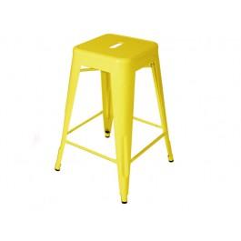 Banco H Tolix 75cm Amarelo