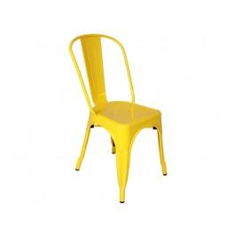 Cadeira A Tolix Amarela