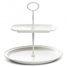 Prato ´CAKESTAND´ Porcelana Seletti Branco
