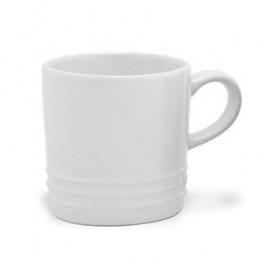 Caneca Cerâmica Cappuccino Le Creuset Branca 200ml