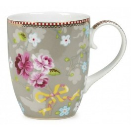 Caneca Chinese Rose PiP Studio Khaki 350ml