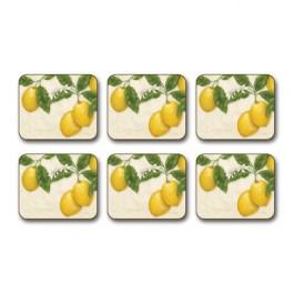Caixa 6 Descansos para Copo Limone Jason