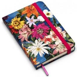Caderneta Sem Pauta Cicero Floral Tropical 9x13
