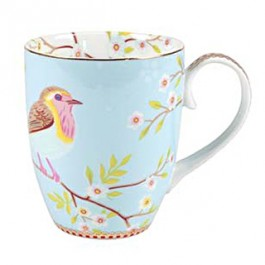 Caneca Early Bird PiP Studio Azul 350ml