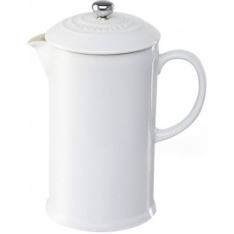 Cafeteira French Press Le Creuset Branca