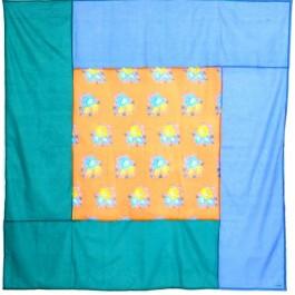 Toalha de Mesa Quadrada Tiger Flower Lisa Corti Dull 2,20x2,20
