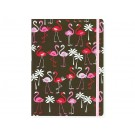 Caderno Peter Pauper Press Midsize Pink Flamingos