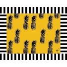 12 Jogos Americanos Papel Abacaxi Amarelo