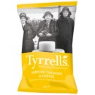 Batata Chips Tyrell´s Queijo Cheddar 150g