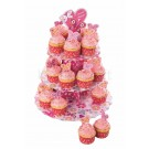 Kit Cupcake Coração