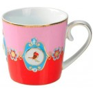 Caneca Love Birds PiP Studio Verm/Rosa 250ml