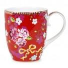 Caneca Chinese Rose PiP Studio Vermelho 350ml