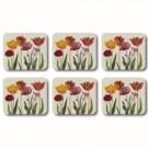 Caixa 6 Descansos para Copo Tulipa Jason