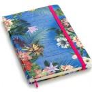 Caderneta Sem Pauta Cicero Floral Tropical 14x21
