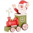 Locomotiva Papai Noel em Madeira