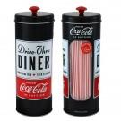 Porta Canudos Diner Coca Cola